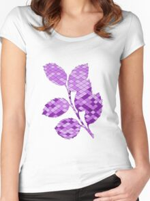 Holly branch Women's Fitted Scoop T-Shirt