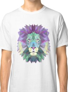 Colorful Abstract Lion Classic T-Shirt