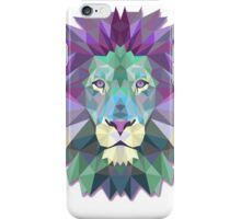 Colorful Abstract Lion iPhone Case/Skin