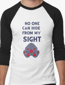 No one can hide from my sight Men's Baseball ¾ T-Shirt