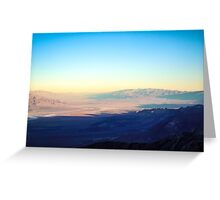 Colors of Death Valley Greeting Card