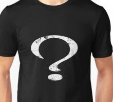 Distressed Question Mark Unisex T-Shirt