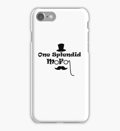 Splendid Mofo iPhone Case/Skin