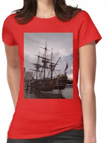 Sailing Ship 2 Womens Fitted T-Shirt