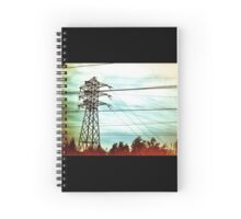 Electricity Spiral Notebook