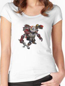 DOTA 2 - Clockwerk Women's Fitted Scoop T-Shirt