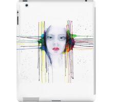 'Futility' Watercolour Portrait Illustration iPad Case/Skin
