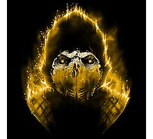 The Hell Scorpion Photographic Print
