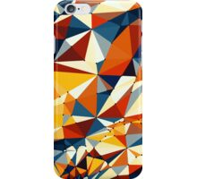 Net of multicolored triangles iPhone Case/Skin