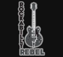 Rockabilly Rebel - monotone Baby Tee