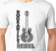 Rockabilly Rebel - monotone Unisex T-Shirt