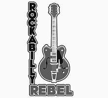 Rockabilly Rebel - monotone Unisex T-Shirt