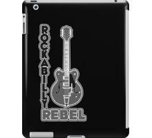 Rockabilly Rebel - monotone iPad Case/Skin