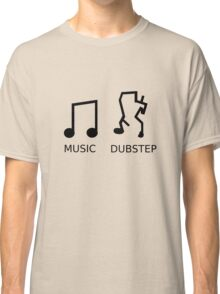 Music Vs. Dubstep Classic T-Shirt