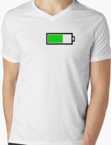 Battery Mens V-Neck T-Shirt