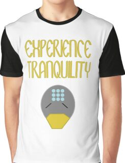 Experience tranquility Graphic T-Shirt