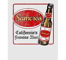 Samcro Beer Coaster Photographic Print