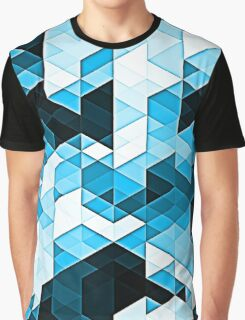 Crystal Confusion - Blue Graphic T-Shirt