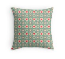 Cookie Love Pattern Throw Pillow