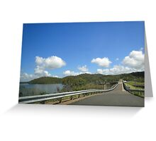 The Dam Wall Greeting Card