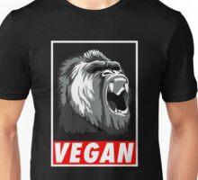 Vegan fitness : the power of gorilla ! Unisex T-Shirt
