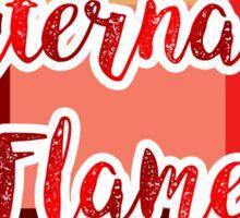 Eternal Flame Sticker