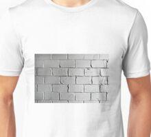 Silver brick wall Unisex T-Shirt