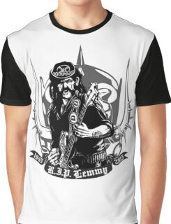 R.I.P. Lemmy Graphic T-Shirt