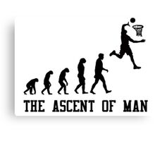 The Ascent of Man Canvas Print