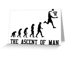 The Ascent of Man Greeting Card