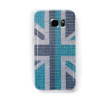 Blue Union Jack Samsung Galaxy Case/Skin