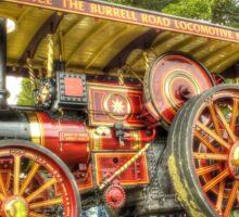 """Endurance"" Burrell Road Locomotive Sticker"