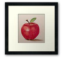 The Apple Framed Print