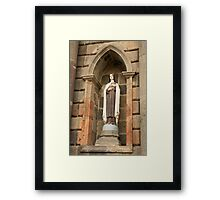 Statue of a Saint Framed Print
