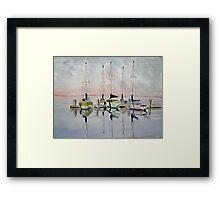 The Marina Framed Print