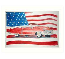 The Cadillac Art Print