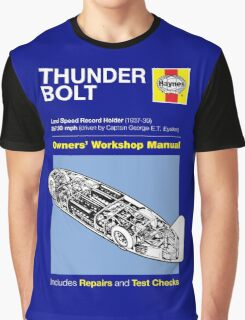 Haynes Manual - Thunderbolt - T-shirt Graphic T-Shirt