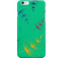 Floating In The Wind No.1 iPhone Case/Skin