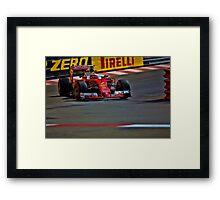 Formula 1 Monaco Grand Prix 2016 Framed Print