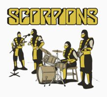 SCORPIONS - MORTAL KOMBAT ROCK BAND One Piece - Long Sleeve
