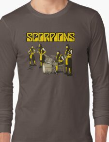 SCORPIONS - MORTAL KOMBAT ROCK BAND Long Sleeve T-Shirt