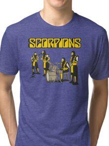 SCORPIONS - MORTAL KOMBAT ROCK BAND Tri-blend T-Shirt