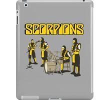 SCORPIONS - MORTAL KOMBAT ROCK BAND iPad Case/Skin