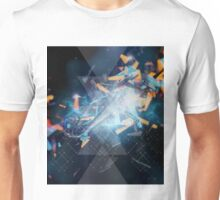 geometric explosion Unisex T-Shirt