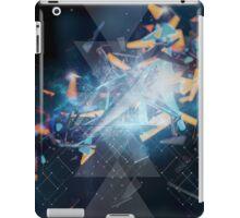 geometric explosion iPad Case/Skin