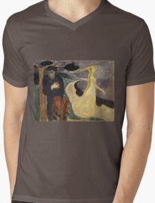 Edvard Munch - Separation. Munch - lovers. Mens V-Neck T-Shirt