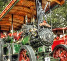 """""""Little Dorothy"""" Burrell Steam Engine Sticker"""