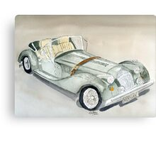 Morgan Sports Car Canvas Print