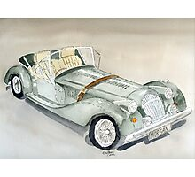Morgan Sports Car Photographic Print
