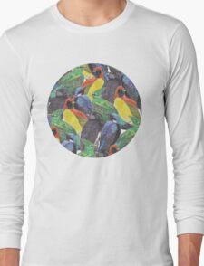 Birds Birds Birds Long Sleeve T-Shirt